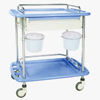 Stainless Trolley For Treament